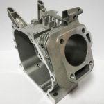 Blok motora s najvažnijim dijelovima motora